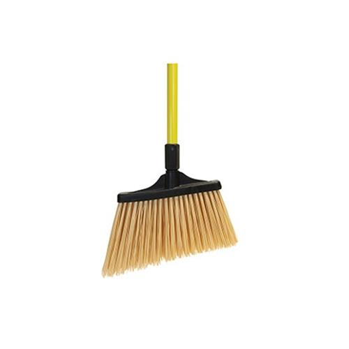 MaxiSweep Angle Broom Unflagged – Yellow