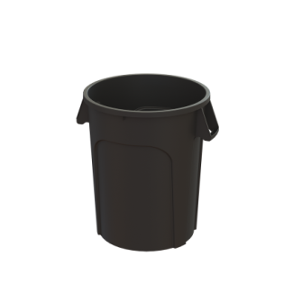 44 Gallon MaxiRough Container - Black